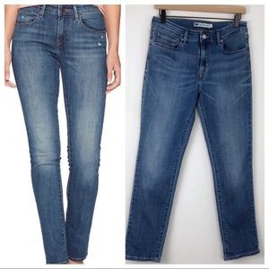 Levi's Mid Rise Skinny Jeans Size 10